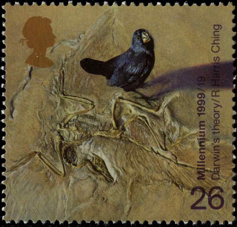 Special Stamps 50th anniversary Royal Mail Darwin's theory