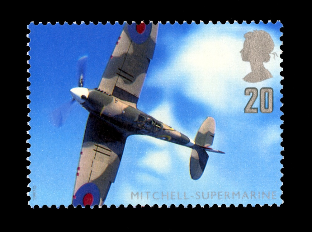 Special Stamps 50th anniversary Royal Mail British aircraft designers