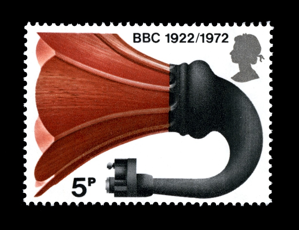 Special Stamps 50th anniversary Royal Mail Broadcasting anniversary