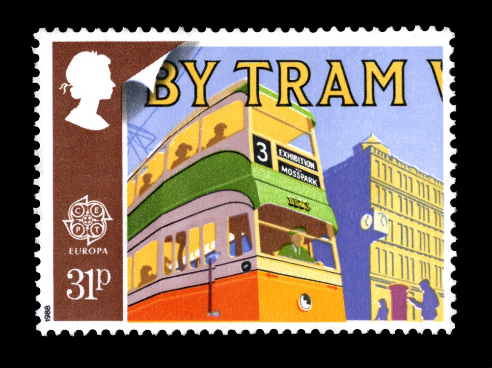 Special Stamps 50th anniversary Royal Mail Transport and Mail Services