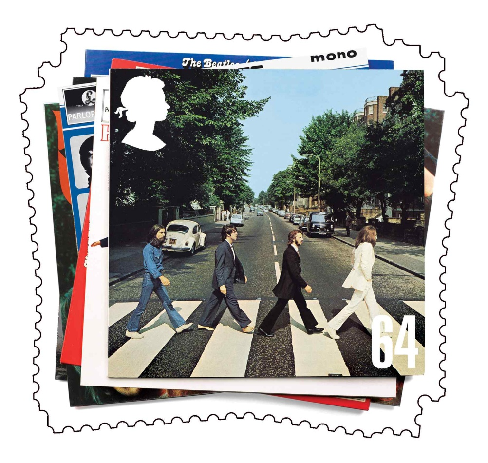 Special Stamps 50th anniversary Royal Mail The Beatles
