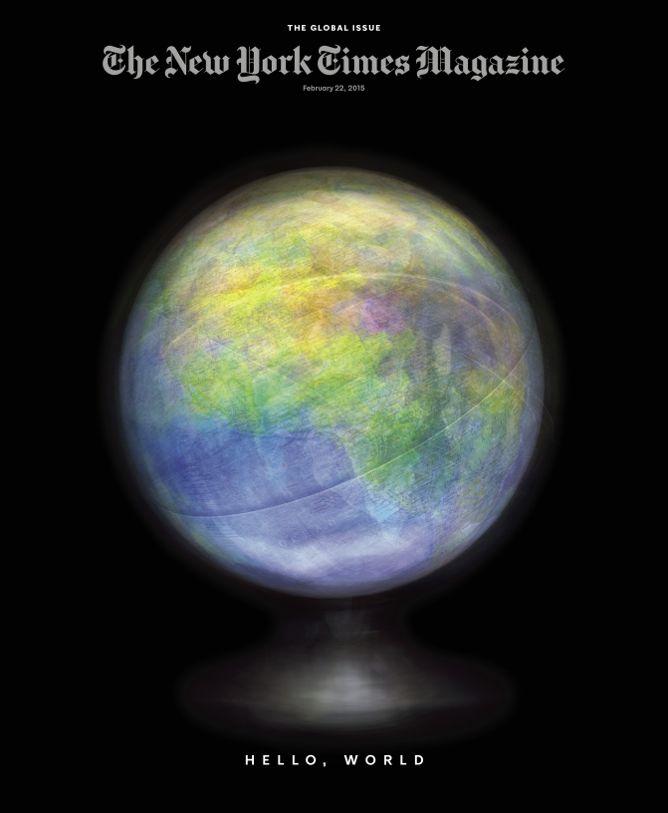 New York Times Magazine cover by Matthew Pillsbury