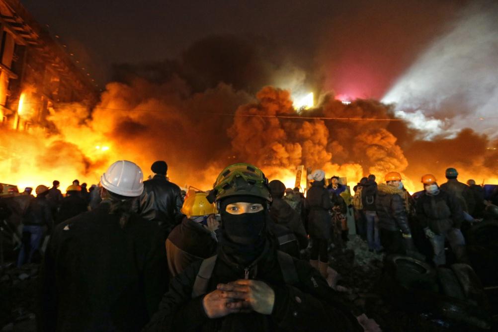 Vladyslav Musiienko – Euromaidan