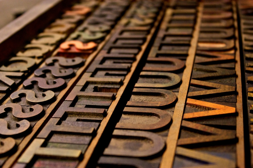 Woodblocks of Johnston type