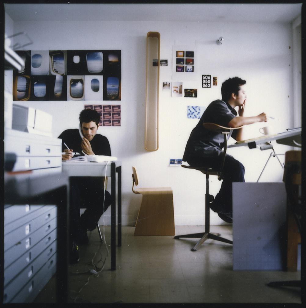 Barber and Osgerby, Trellick Tower studio, circa  1996