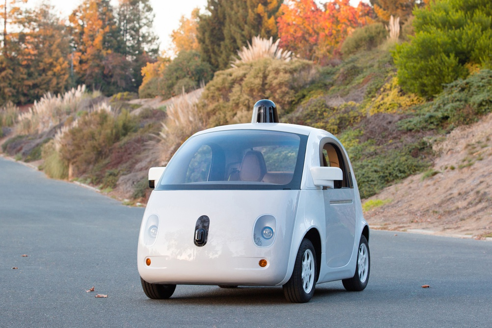 Google Self-Driving Car, photo by Gordon De Los Santos