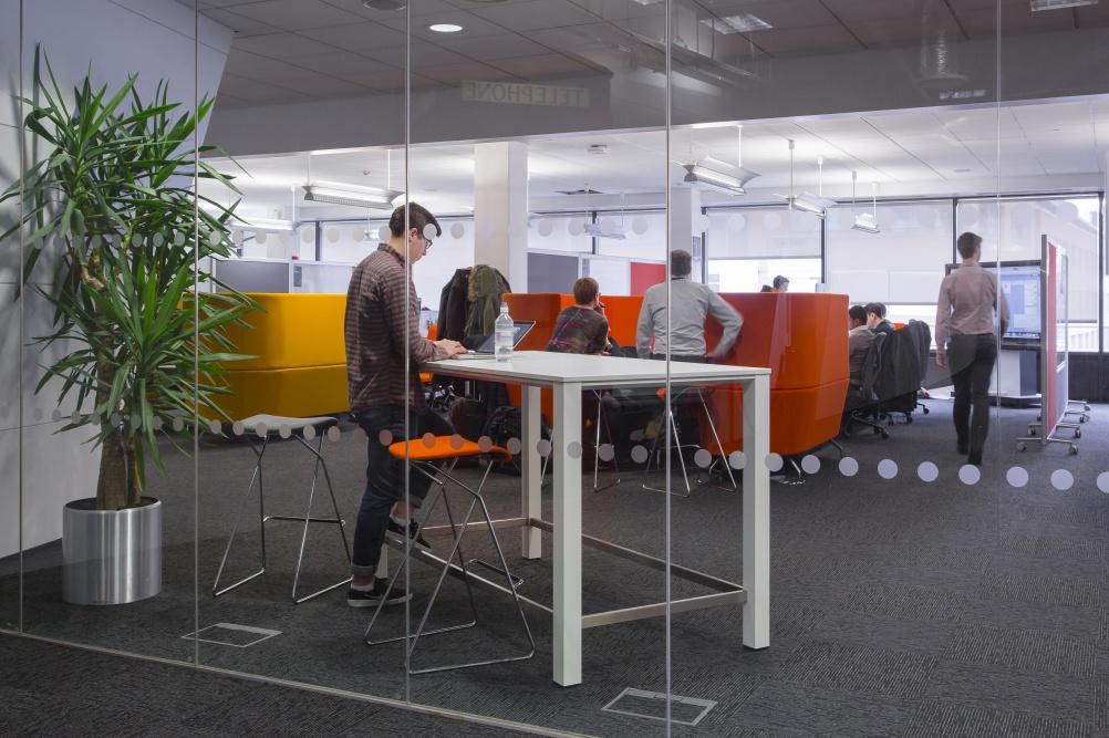 IBM's new London studio. Image by Tim Crocker Photography