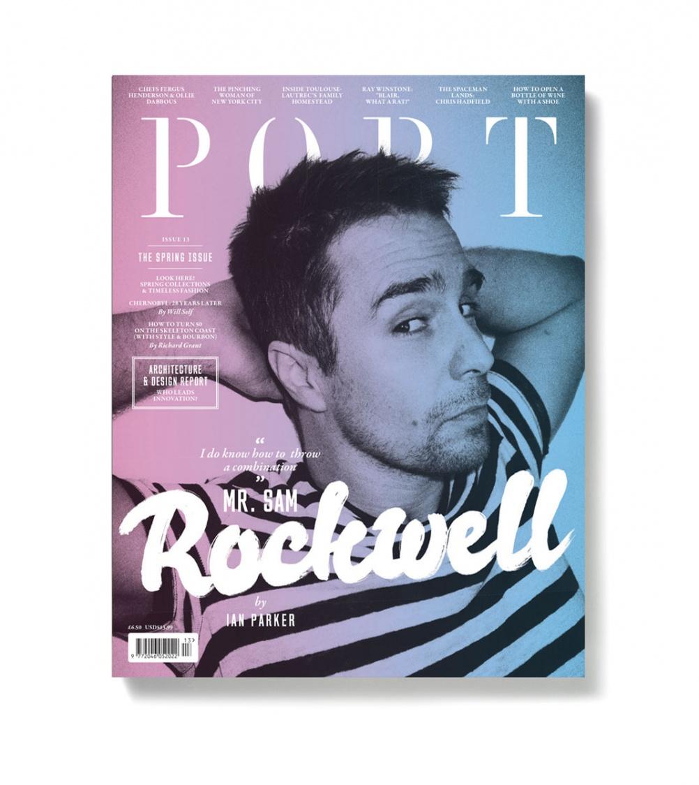 Cover for Port magazine