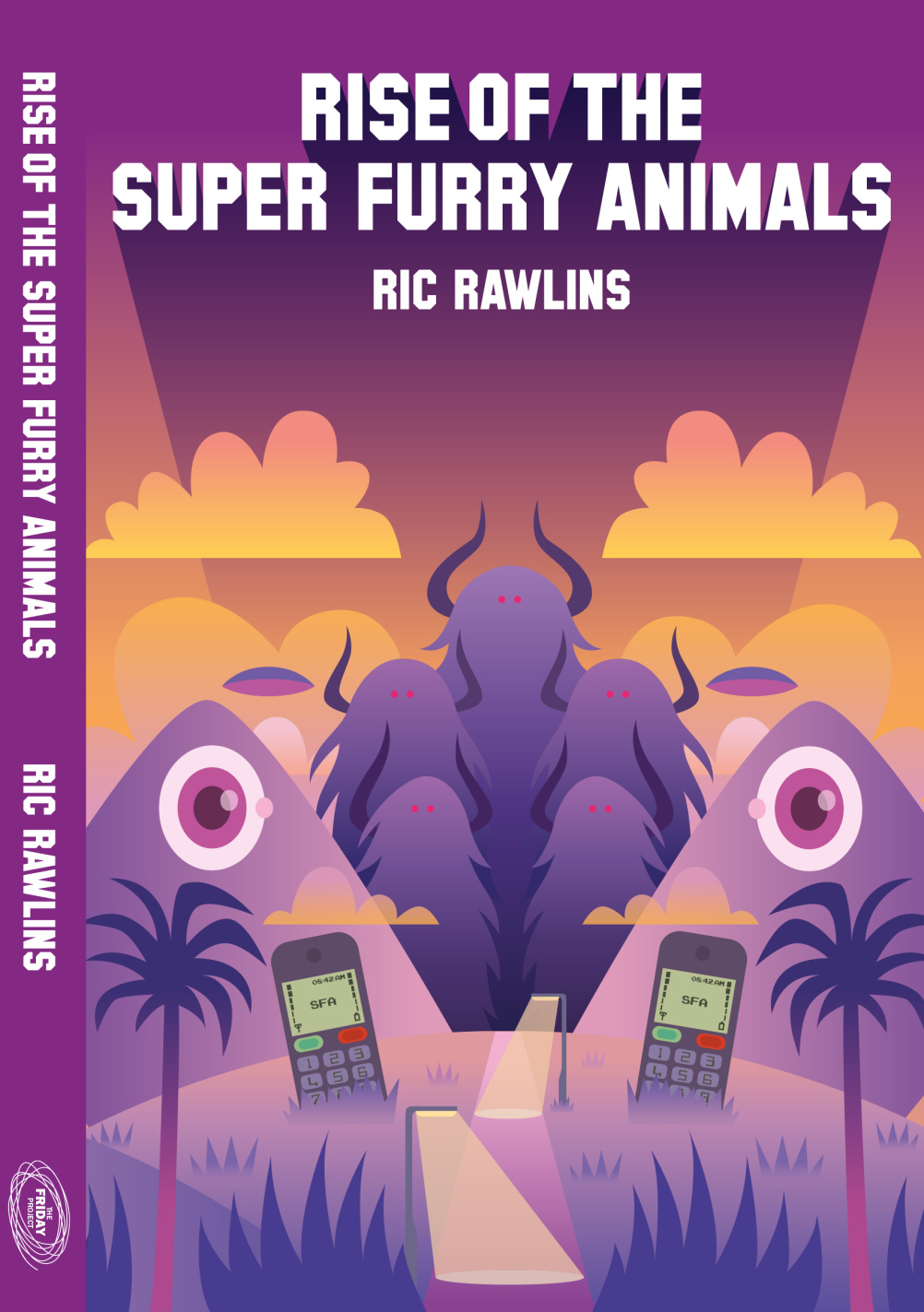Rise of the Super Furry Animals art by Pete Fowler