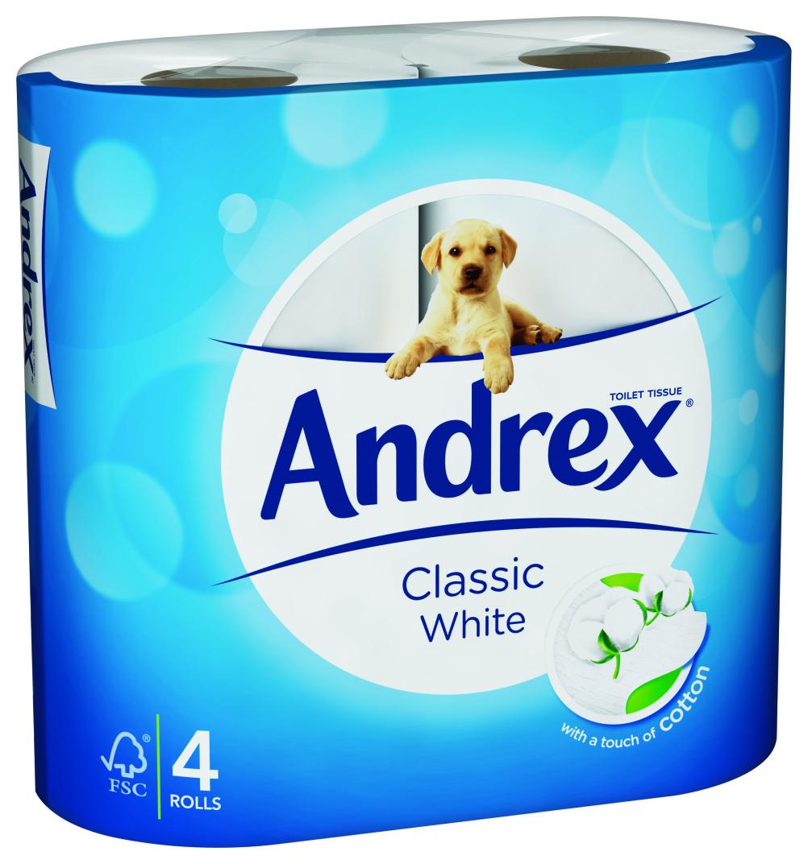 Andrex rebrand by Sterling Brands