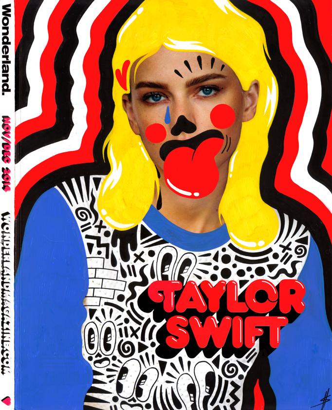Wonderland magazine cover