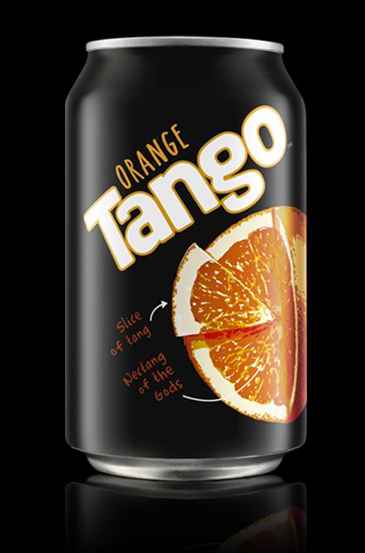 Tango Goes Back To Black With Brandhouse Rebrand Design Week