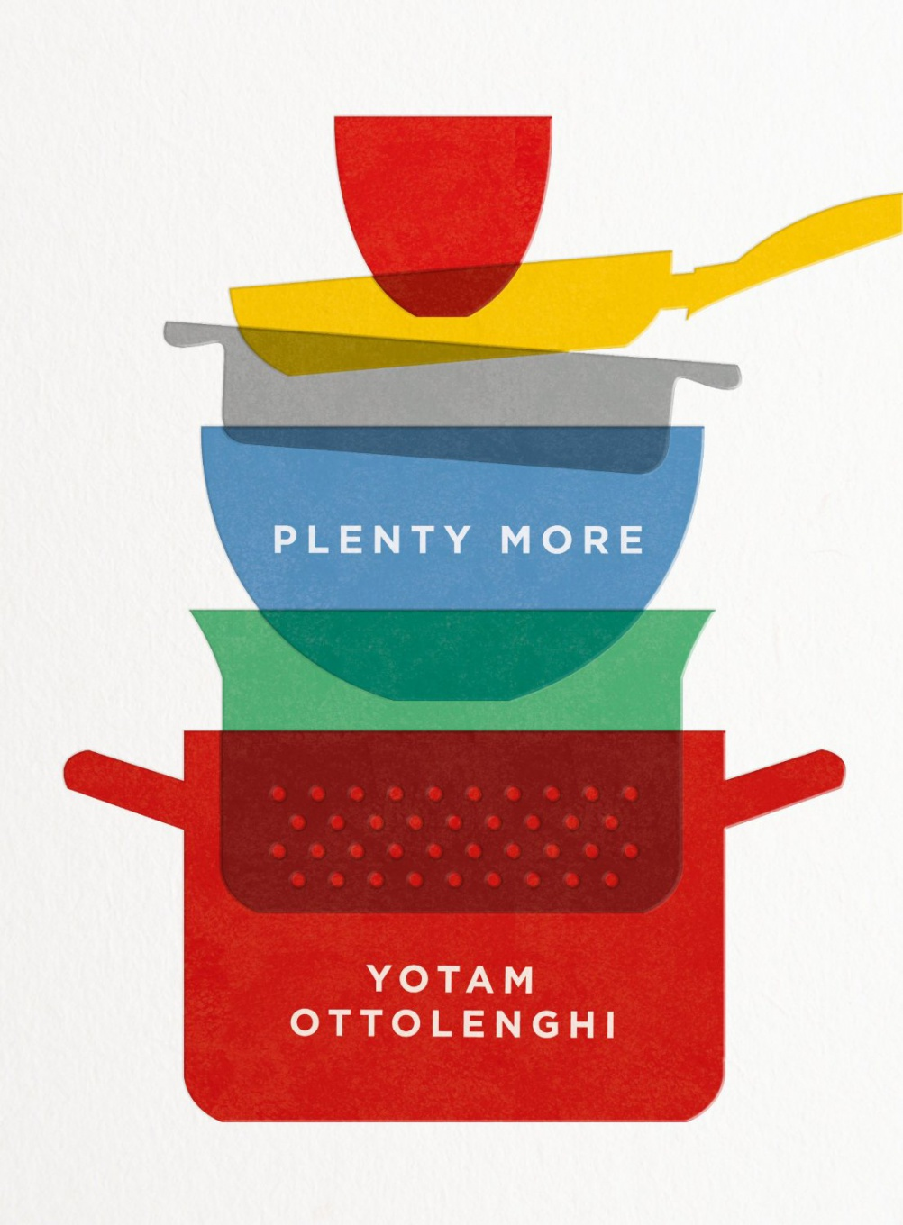 Plenty More book cover, by Here Design