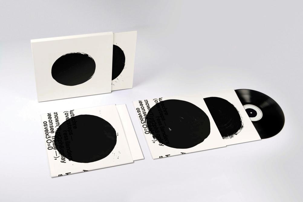 """Autechre — Oversteps album (Warp) 2009 Ltd Edition 12"""" vinyl with Ltd Edition TDR™ / Autechre print"""