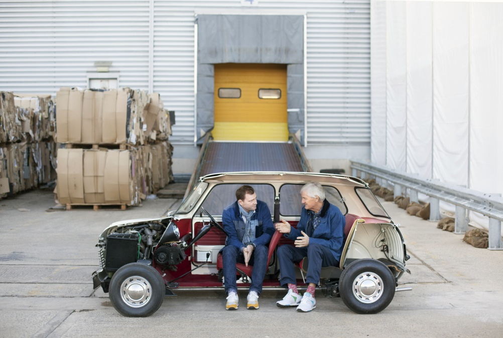 Father and son Sir James and Jake Dyson. Image by Laura Pannack Camera Press