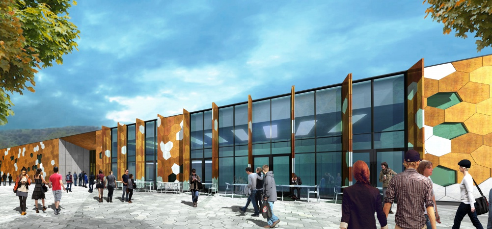Rio Artist Impression Visitor Centre