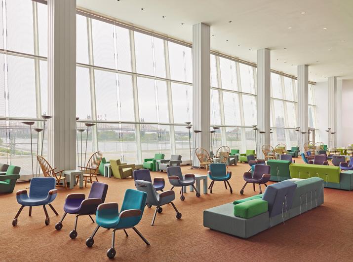 UN North Delegates Lounge