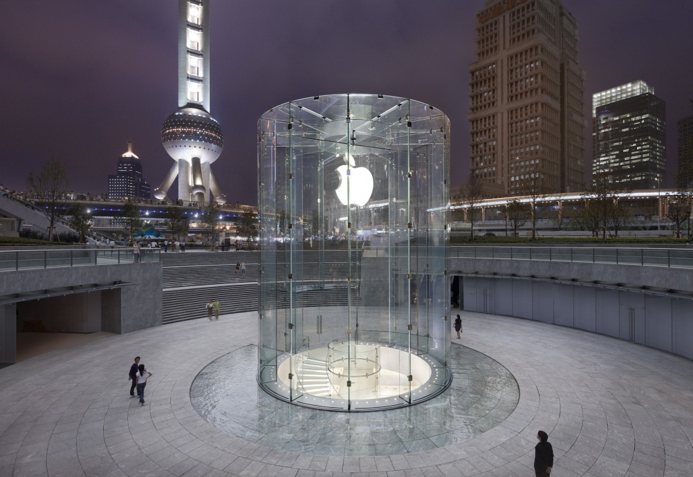 The Apple Store in Pudong, Shanghai