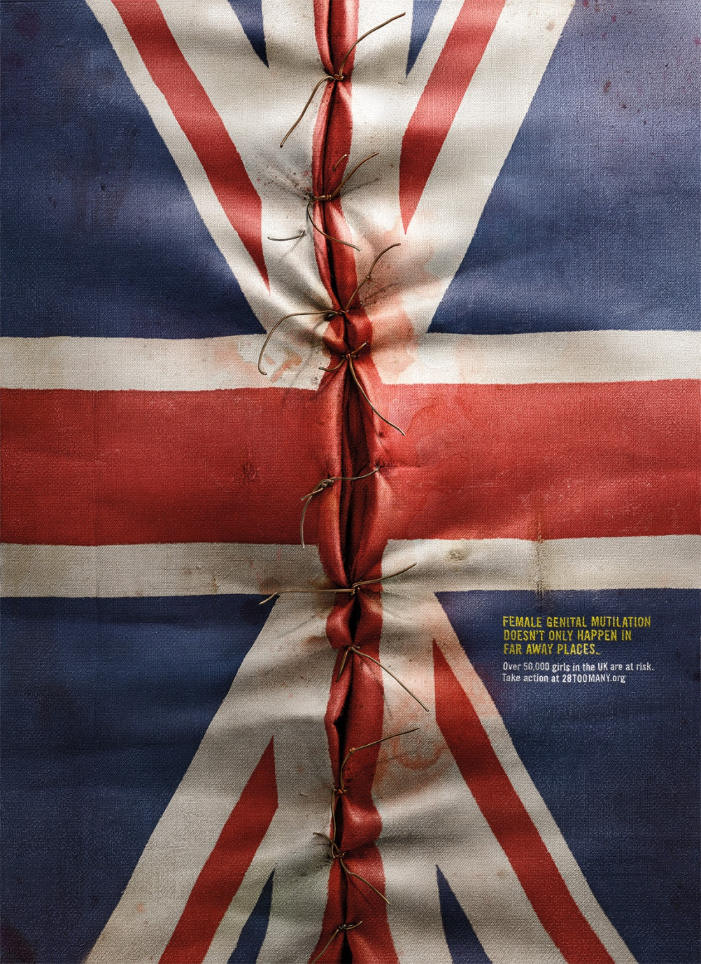 It Happens Here campaign - UK flag