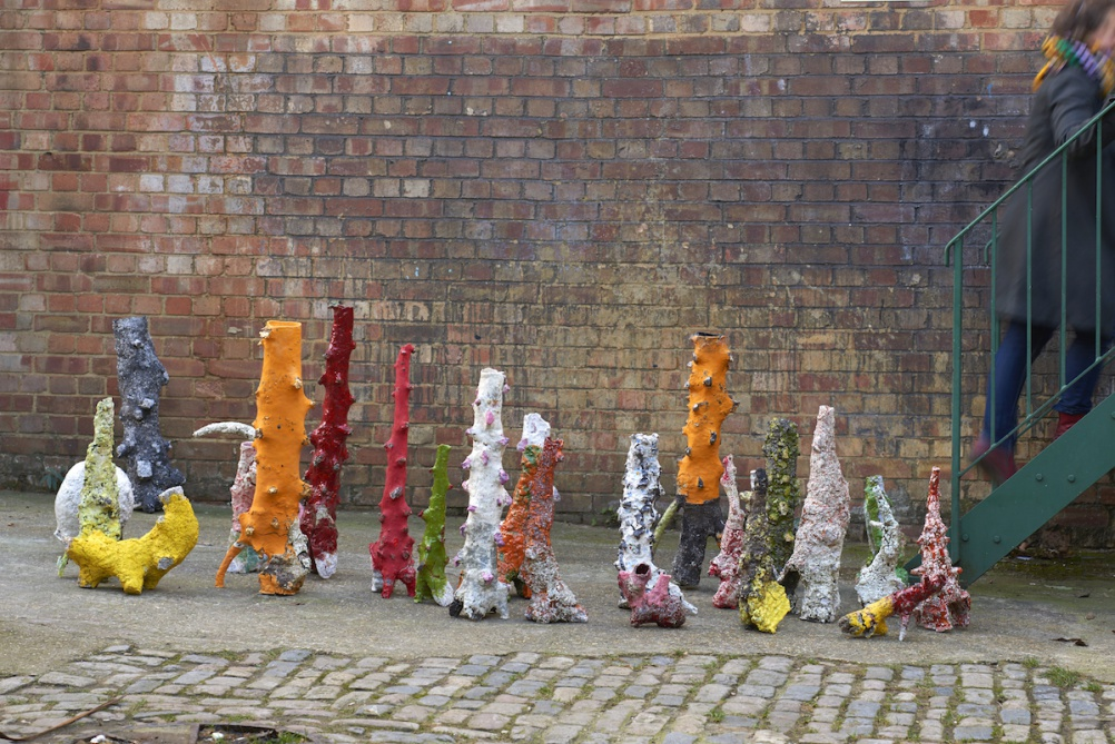 Aneta Regel, installation view, 2015. Image courtesy the artist.