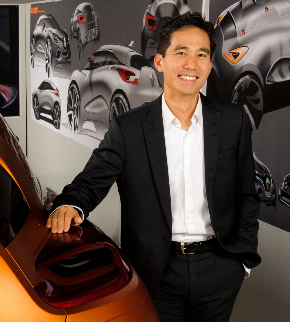 Renault's vice-president of exterior design Anthony Lo