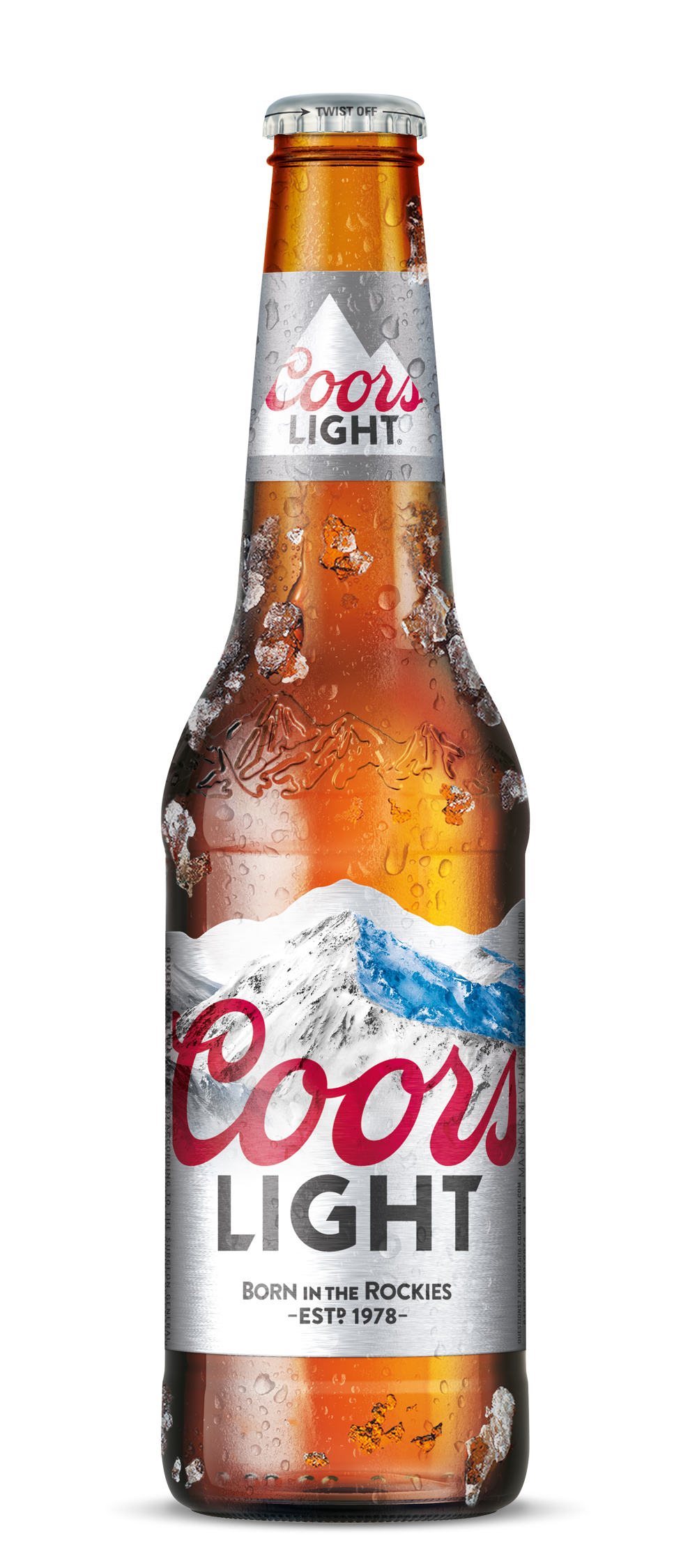 Coors Light Bottle Image