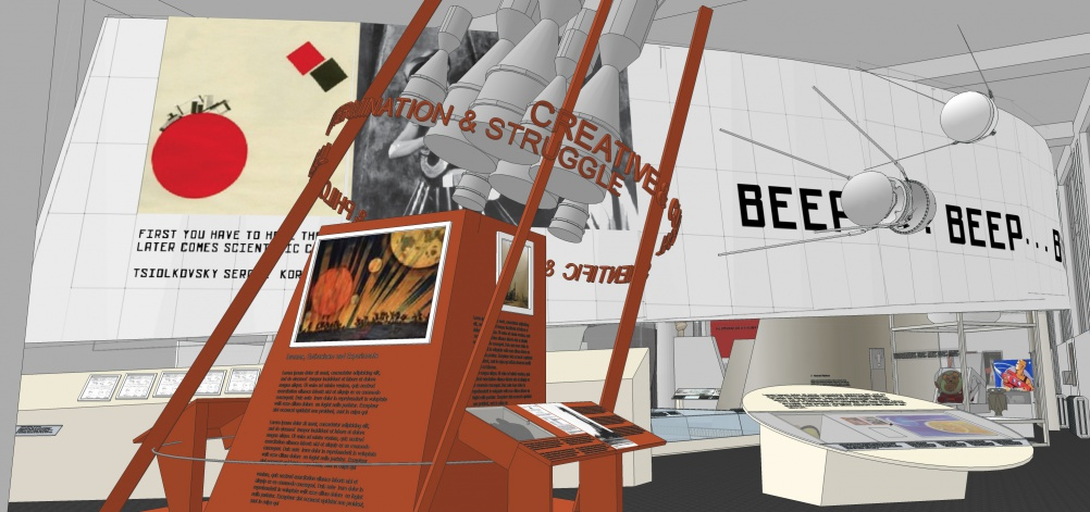 Early impression by Real Studios of how Cosmonauts: Birth of the Space Age may look