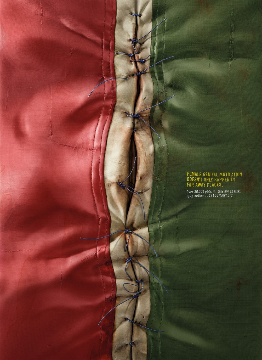 It Happens Here campaign - Italian flag