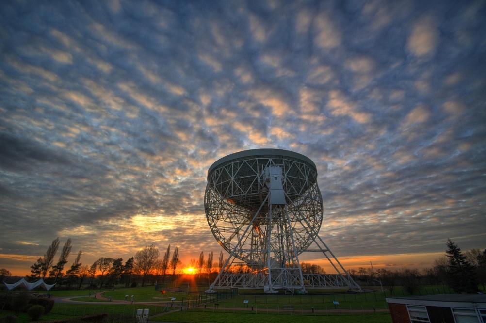 Jodrell Bank - Lovell telescope at Sunset - Ant Holloway (3) - smaller