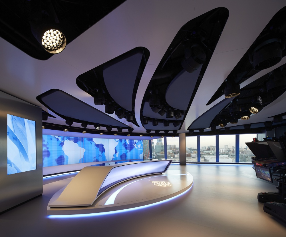 Veech Media_Al Jazeera Studio_The Shard_London_©Hufton+Crow_001