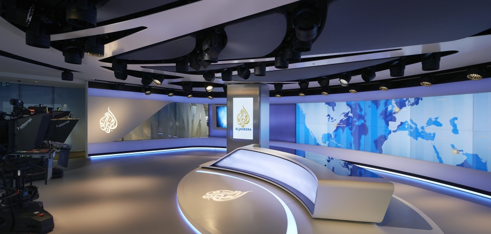 Veech Media_Al Jazeera Studio_The Shard_London_©Hufton+Crow_002