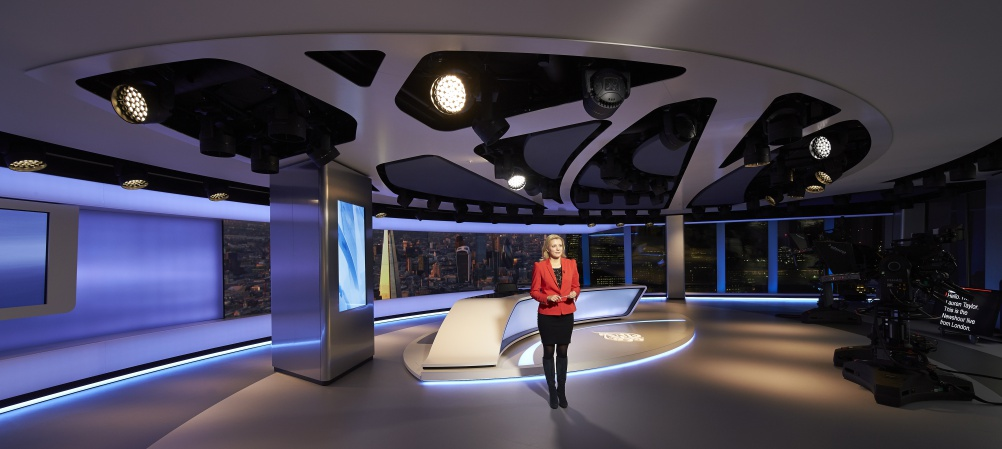 Veech Media_Al Jazeera Studio_The Shard_London_©Hufton+Crow_003