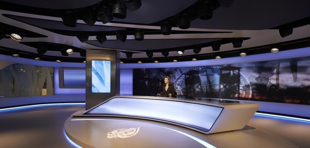 Veech Media_Al Jazeera Studio_The Shard_London_©Hufton+Crow_004