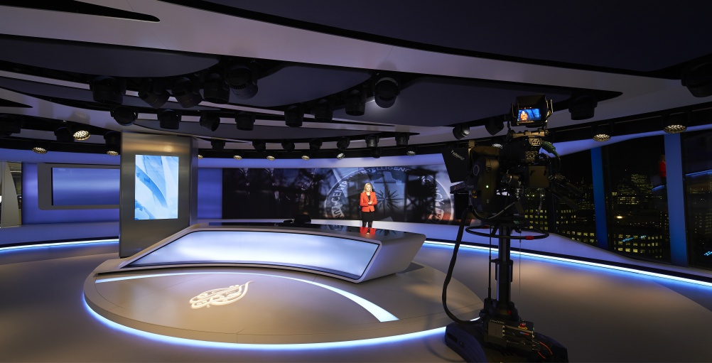 Veech Media_Al Jazeera Studio_The Shard_London_©Hufton+Crow_007