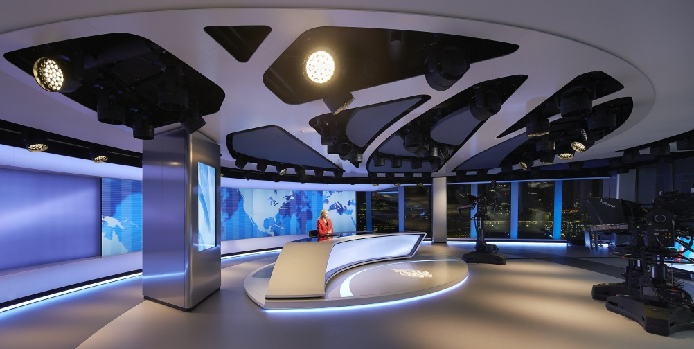 Veech Media_Al Jazeera Studio_The Shard_London_©Hufton+Crow_011
