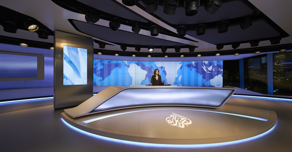Veech Media_Al Jazeera Studio_The Shard_London_©Hufton+Crow_015