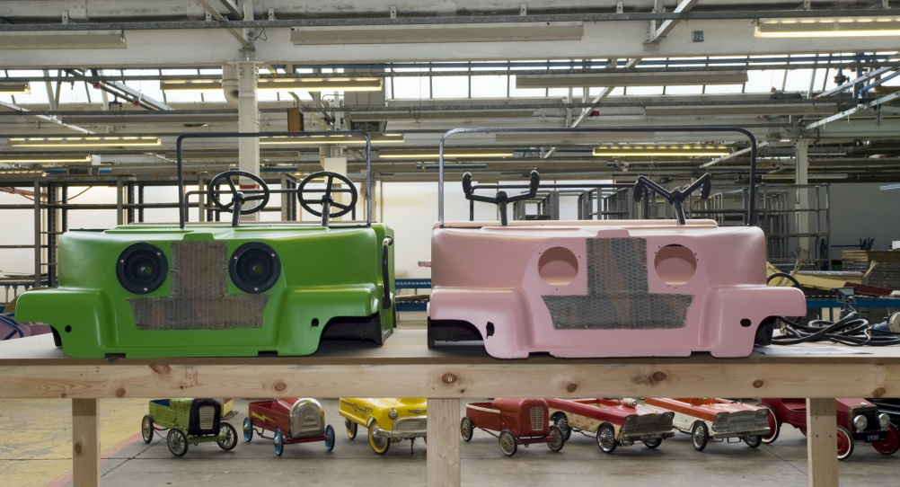 Old fairground features being upcycled