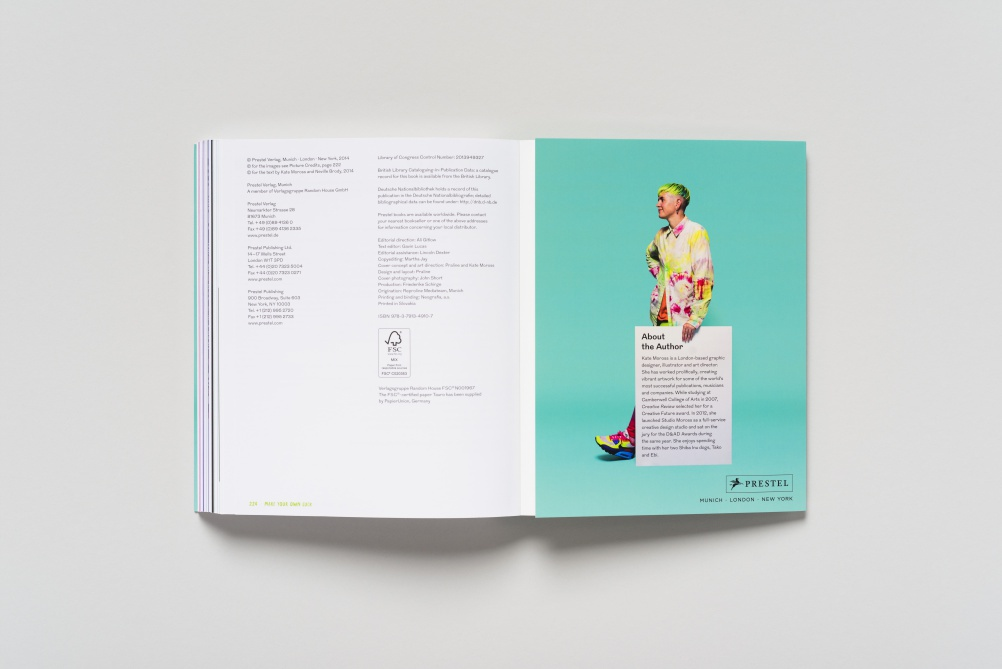 Spread from Make Your Own luck - image by Ed Park