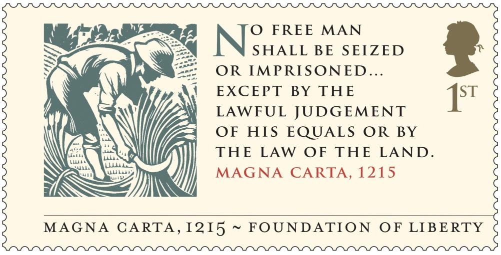 Magna Carta - Magna Carta 1215 Stamp 400