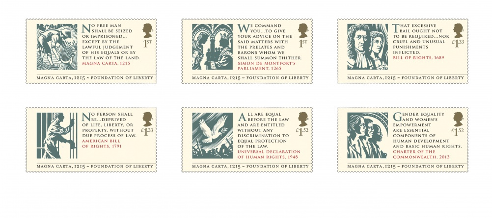 Magna Carta stamps for stampcards 400