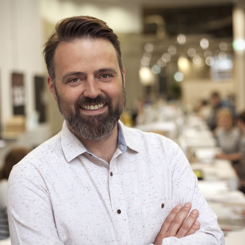 Paul Taylor, executive creative director, BrandOpus