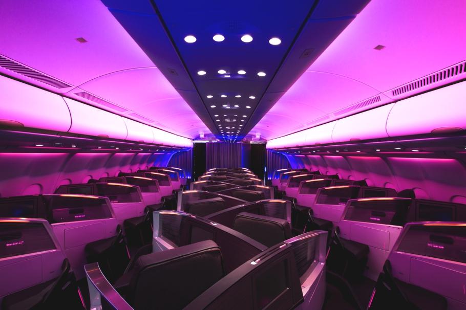 Virgin Atlantic Upper Class seats by Simon Pengelly
