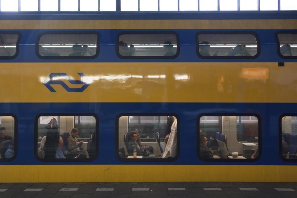 The NS Dutch national railway identity