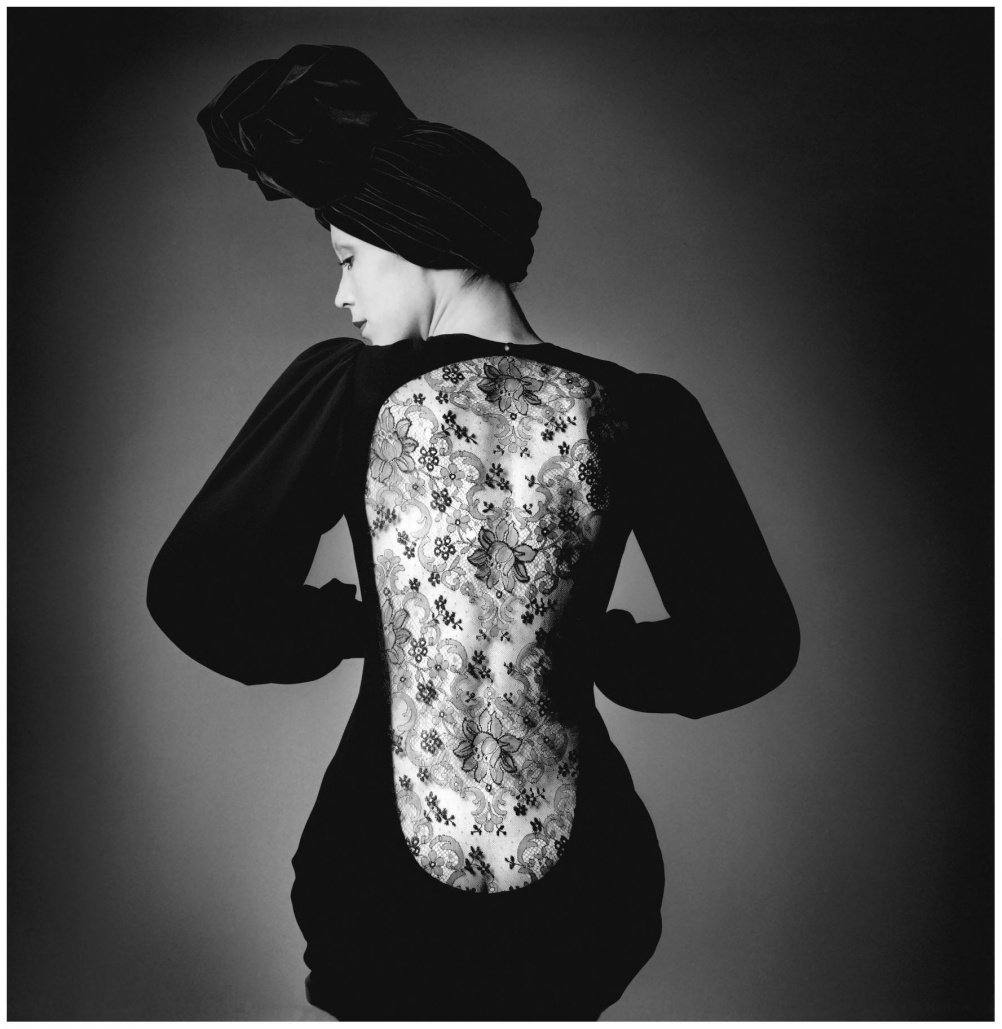 (8) Short evening gown worn by Marina Schiano (c) the Estate of Jeanloup Sieff
