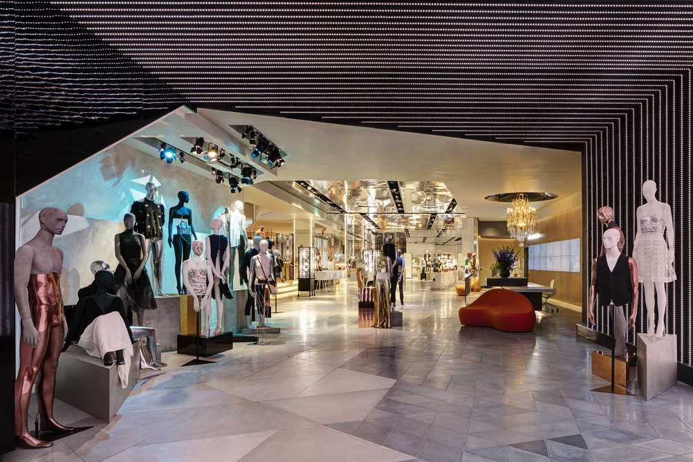 Harvey Nichols Looks To Quot Redefine Luxury Quot With New Store