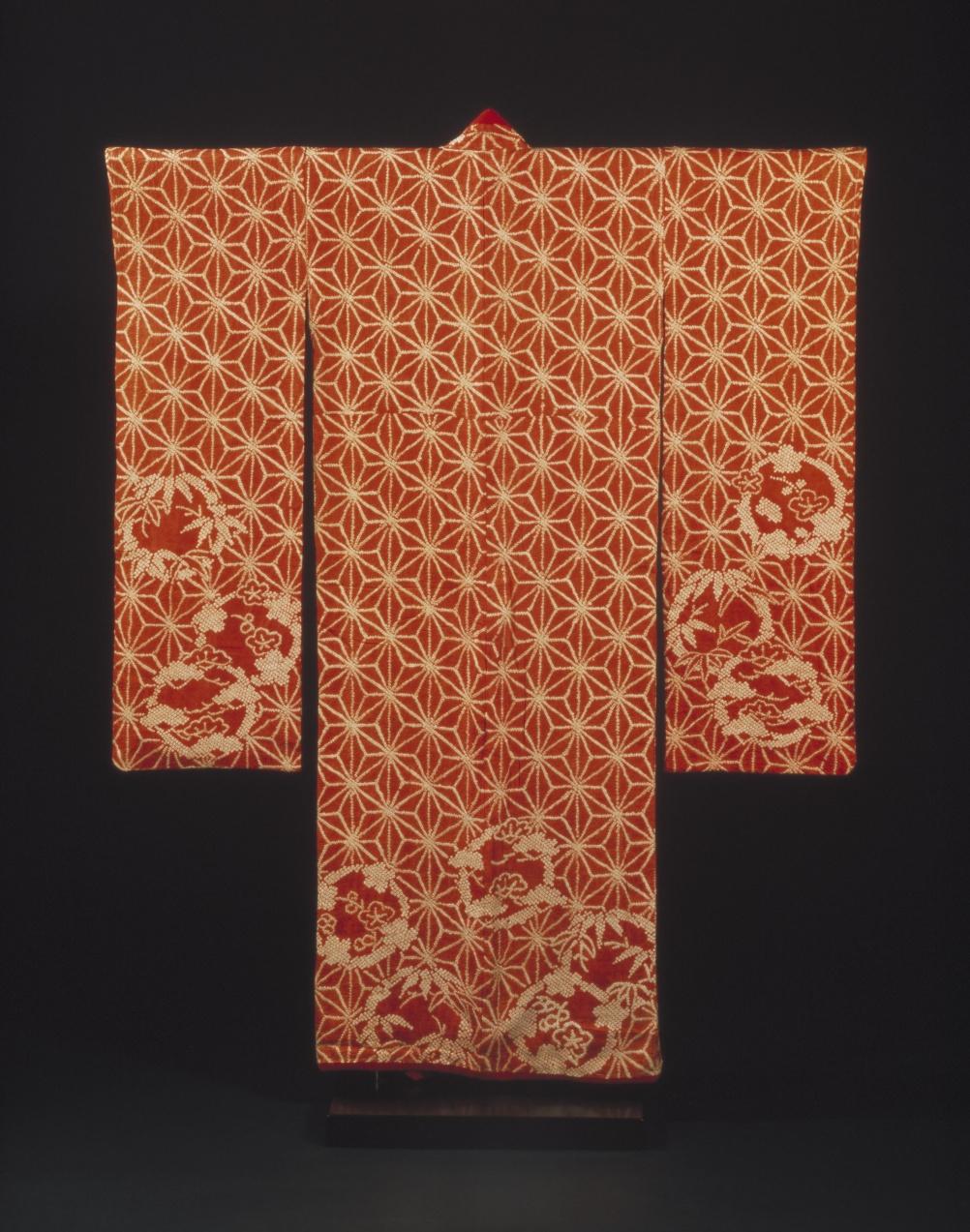 Kimono, 1790-1830 (c) Victoria and Albert Museum, London