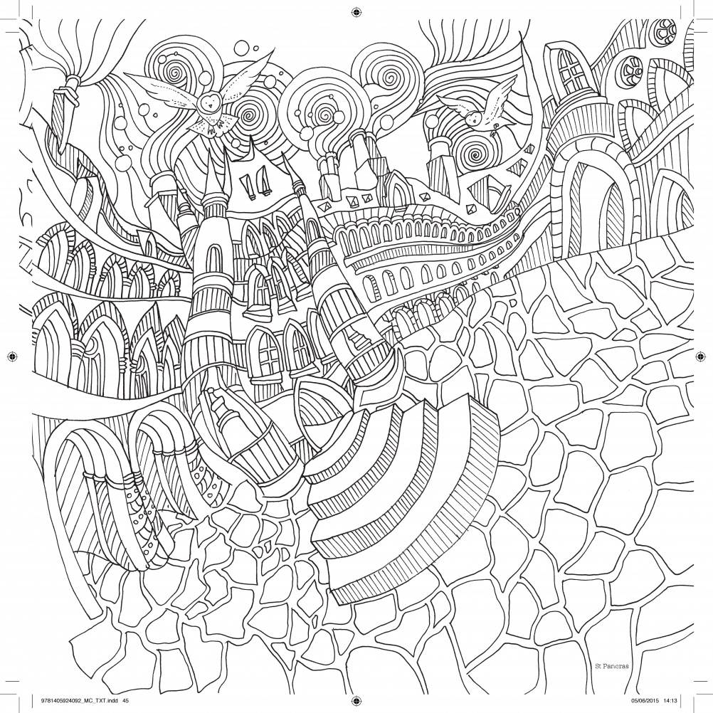 Illustration of St Pancras, London