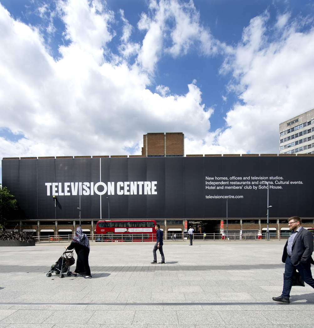 Television Centre wrap