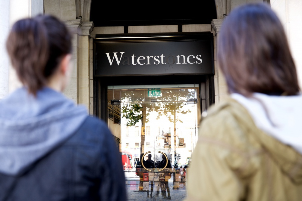 Waterstones drops letters to support the