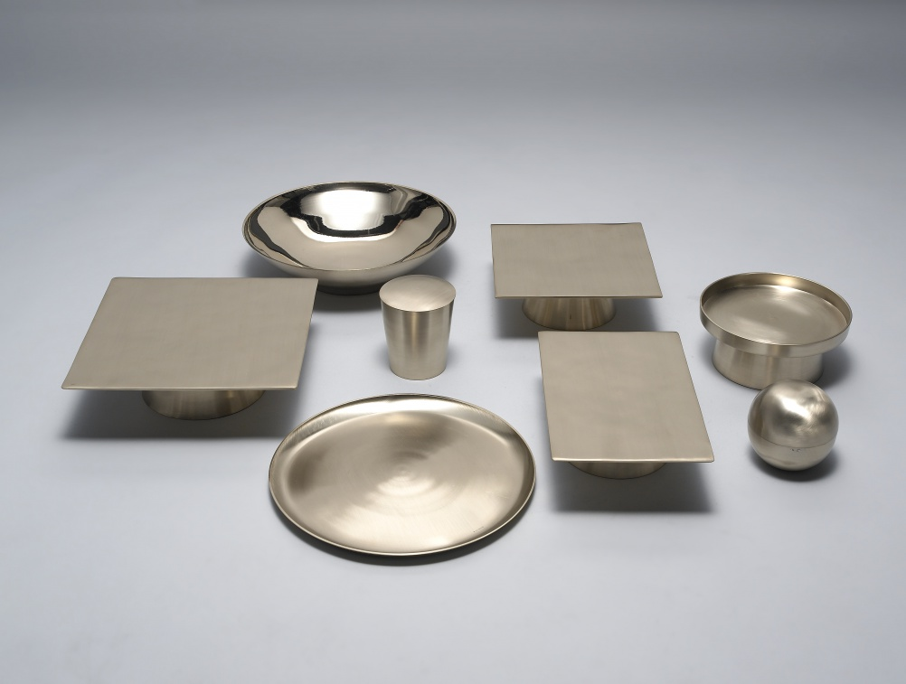 Brass Tableware by Kim Soo Young & Cho Ki Sang